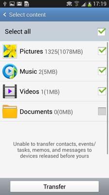 transferir músicas de Android para Android-envie os arquivos de música via NFC