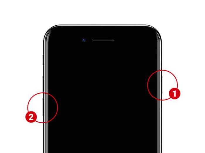 iphone stuck on apple logo ios-12-put iphone 7 in DFU mode
