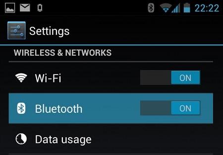spostare i contatti da iPhone ad Android-vai alle impostazioni del tuo dispositivo Android