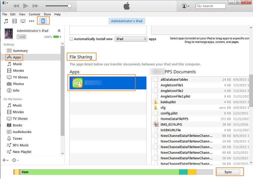 Übertragung vom Computer auf das iPhone XS (Max)