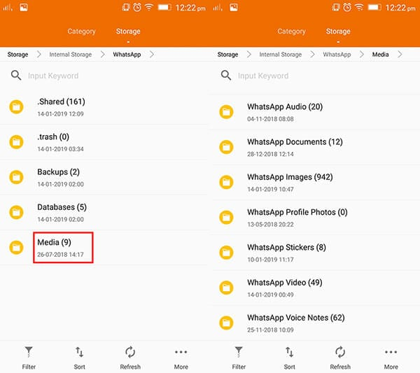 restore gbwhatsapp messages to new phone by copying files