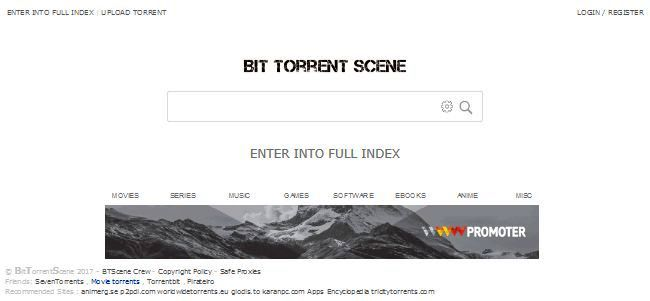 torrent movie sites - bit torrent scene
