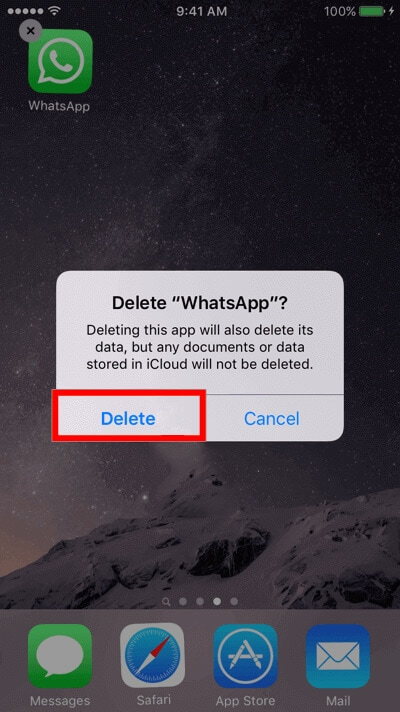 read deleted whatsapp messages by installing ios app
