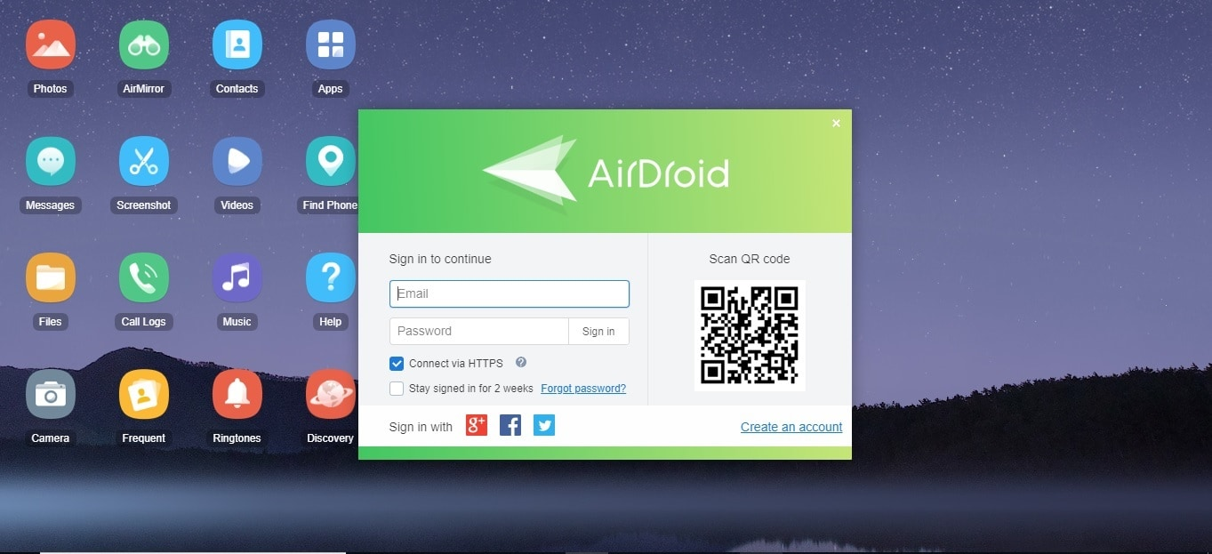 how to transfer files from pc to android-Airdroid