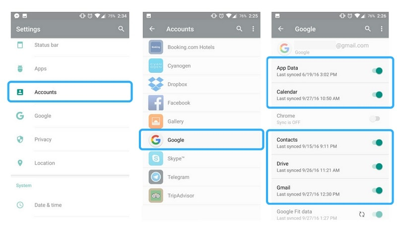 access icloud calendar on android