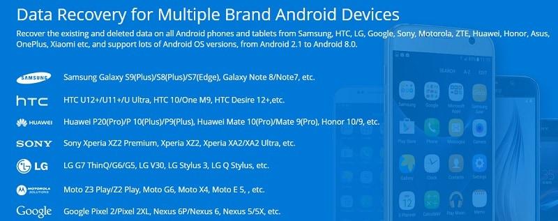 Jihosoft Android Phone Recovery Kompatibilität