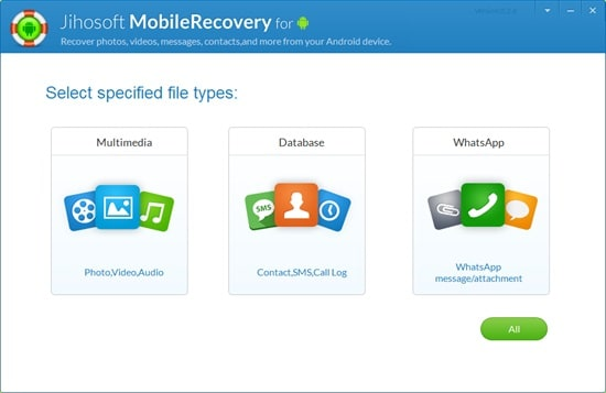 Installieren Sie jihosoft android recovery