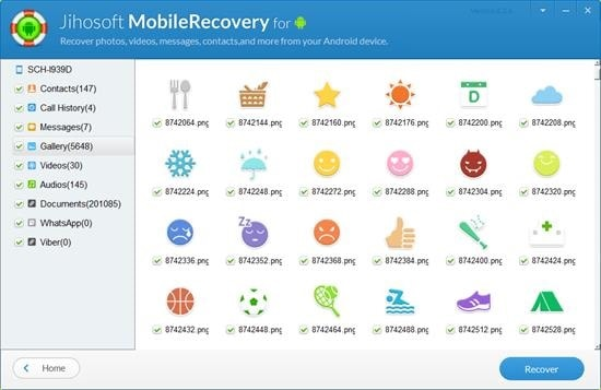 recover data with jihosoft