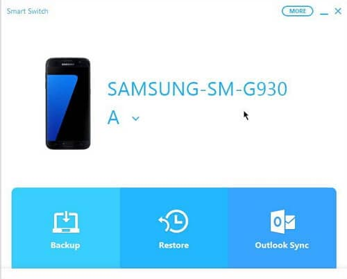 backup samsung phone with smart switch