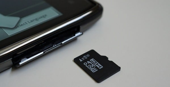remount the sd card reader