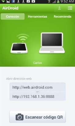 transfer samsung files to pc using airdroid