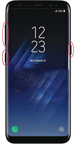 fix samsung S10/S20 stuck on boot loop in recovery mode
