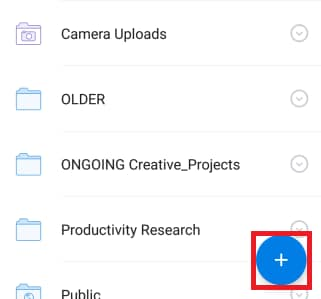 alternative way to upload photos