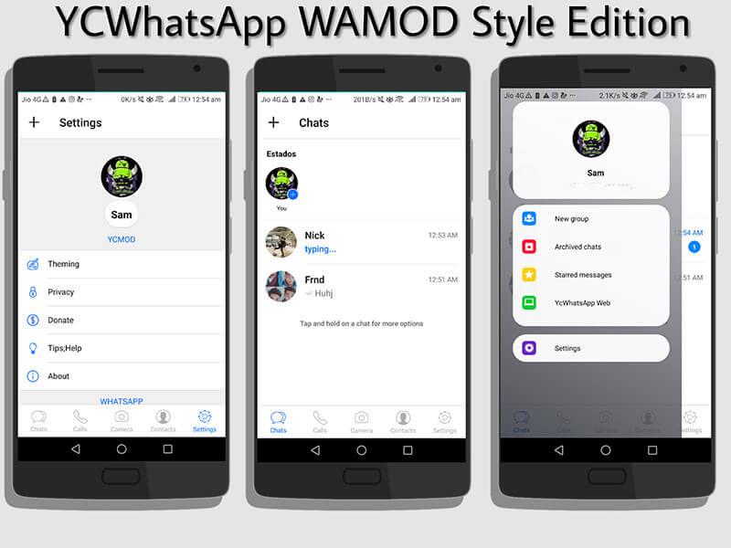 whatsapp mod - ycwhatsapp