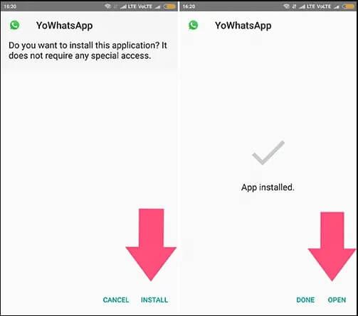 install yowhatsapp
