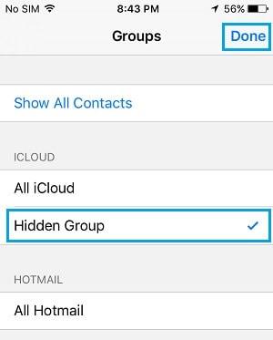 Hidden Group