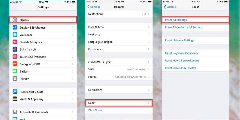 Tweak iPhone settings