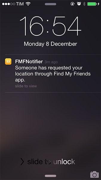 FMFNotifier notification