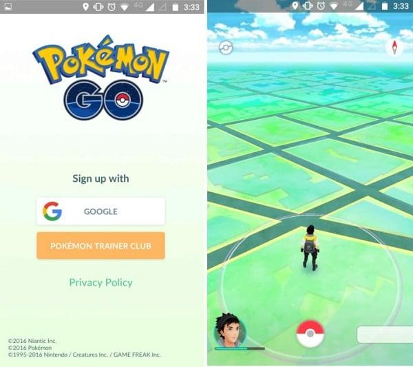 Bei pokemon go anmelden