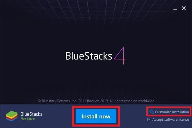 BlueStacks installieren