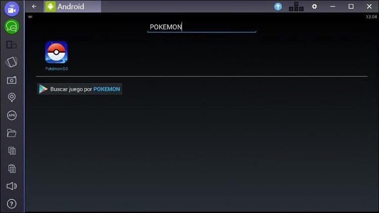 Neustart von BlueStacks, um Pokemon Go zu finden