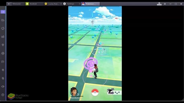 starten SIe Pokemon Go erneut