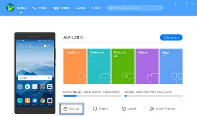Come trasferire foto da Android ad Android tramite Huawei Suite