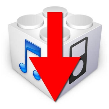 how to downgrade ios without computer