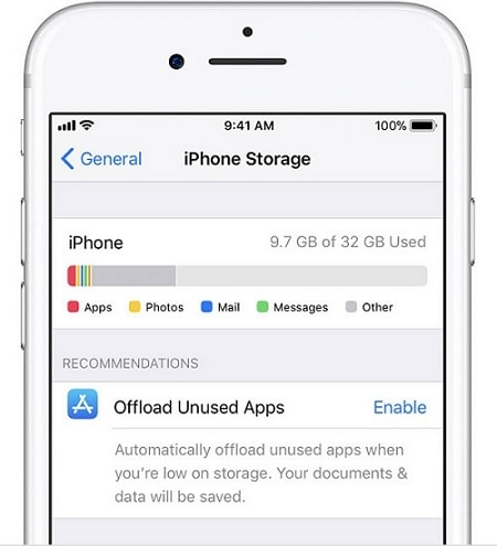 free space for ios downgrade