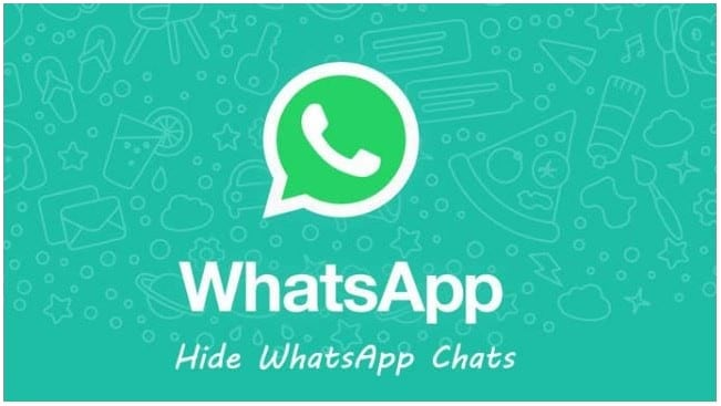 إخفاء دردشات WhatsApp 1