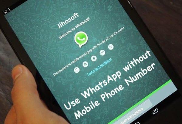 تأكيد whatsapp بدون بطاقة sim 1