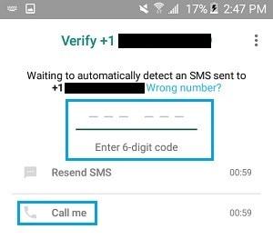 تأكيد whatsapp بدون بطاقة sim 10