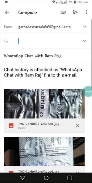 backup immagini whatsapp business 19