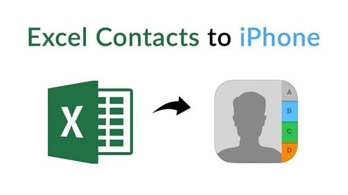 Excel contacts iPhone