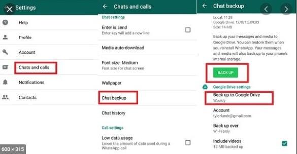 Wie Sie Whatsapp-Business auf Whatsapp übertragen