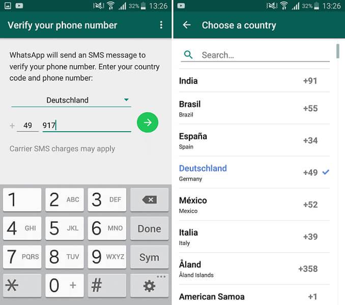 WhatsApp business code verify