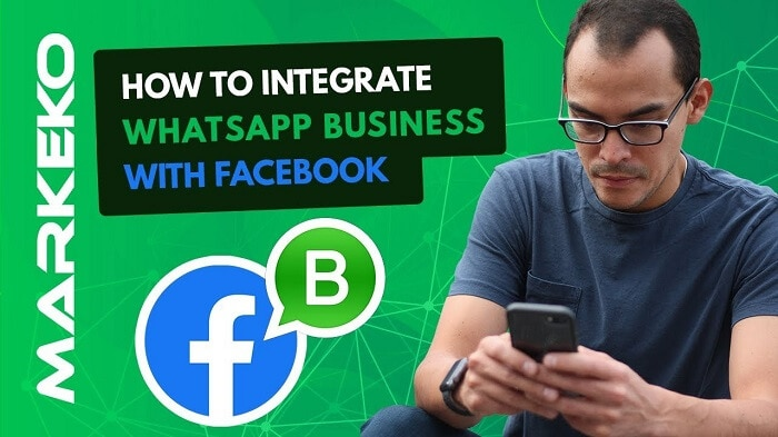 WhatsApp Business Link with Facebook