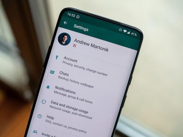 WhatsApp Business-Einstellungen