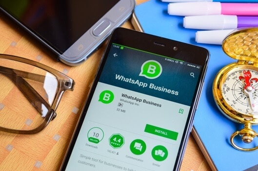 WhatsApp Business Online-Status