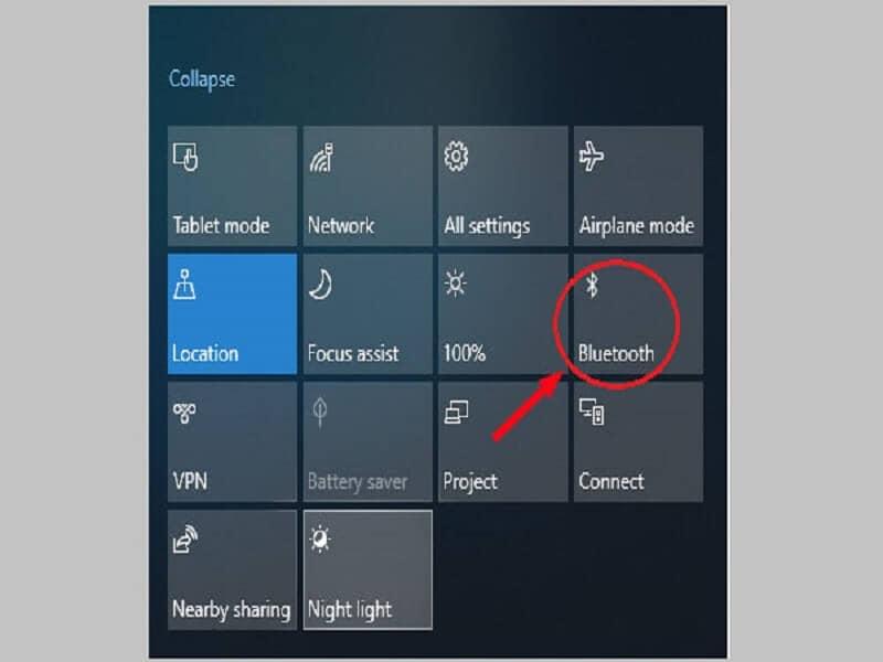 transfer using Bluetooth