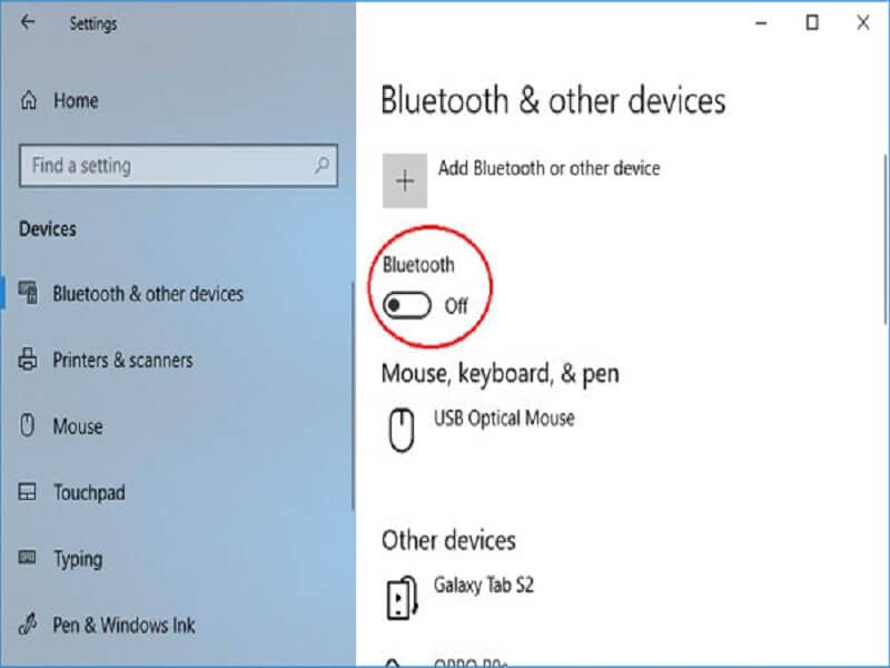 Transfer using Bluetooth2