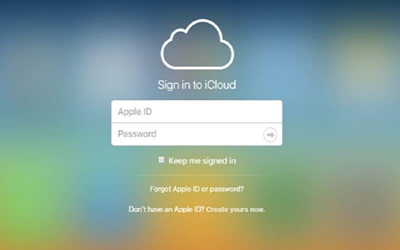 Transfer using iCloud