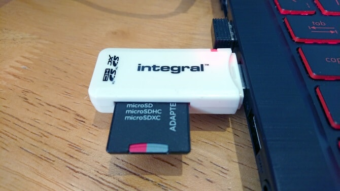 external sd card reader