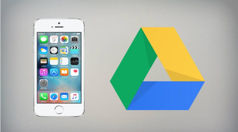 How to transfer photos from iPhone to google drive
