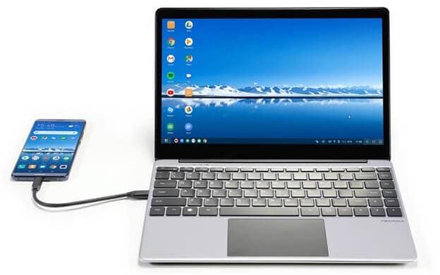 phone laptop transfer