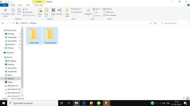 Dossier de Windows Explorer