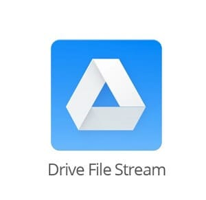 Drive File Stream logo