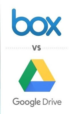 google drive vs. box