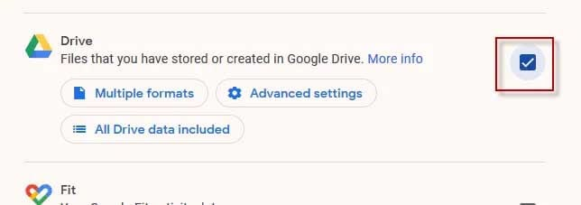 google takeout 2