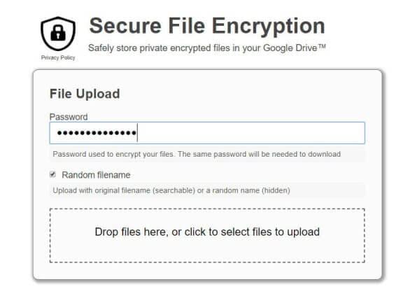 secure file encryption